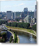 I Love You. Vilnius. Lithuania Metal Print