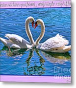 I Promise To Love You Poster By Diana Sainz Metal Print
