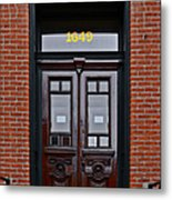 I See A Red Door Metal Print