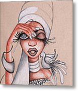 I See Metal Print by Chibuzor Ejims