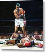 I Shook Up The World Metal Print by GCannon