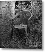 I Used To Sit Here Metal Print by Luke Moore