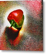 I Vote For A Really Hot Sweet Pepper Metal Print
