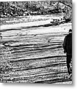 I Walk Alone Metal Print