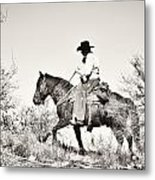 I Went Up To The Mountain... Metal Print