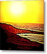 I Hope I Will See You In The Morning  Metal Print