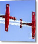 Iaf Flight Academy Aerobatics Team-a Metal Print