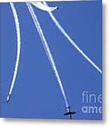 Iaf Flight Academy Aerobatics Team Metal Print
