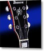 Ibanez Af75 Electric Hollowbody Guitar Headstock Metal Print