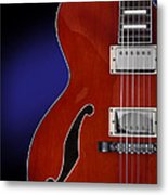 Ibanez Af75 Hollowbody Electric Guitar Front View Metal Print