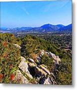 Ibiza Mountains Metal Print