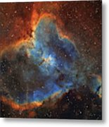 Ic 1805, The Heart Nebula In Cassiopeia Metal Print