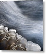 Ice & Water Metal Print