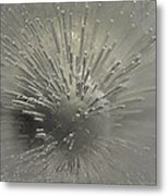 Ice Abstract II Metal Print