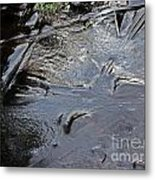 Ice Abstration 2 Metal Print