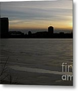 Ice And Fire Metal Print