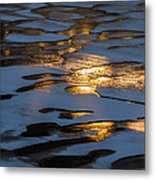 Ice And Fire - Featured 3 Metal Print