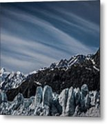 Ice And Sky With My Little Eye Metal Print