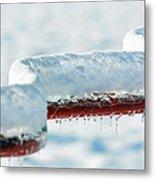 Ice And Snow-5505 Metal Print