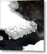 Ice And Water Metal Print