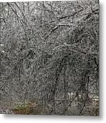 Ice Arch Metal Print