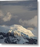 Ice-capped Mountains Anvers Island Metal Print