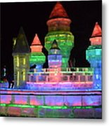 Ice Castle Metal Print by Brett Geyer
