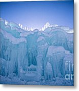 Ice Castle Metal Print
