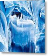 Ice Castles Painting Metal Print