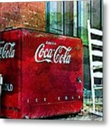 Ice Cold Coca Cola Metal Print
