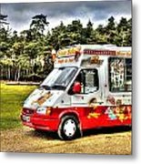 Ice Cream in the New Forest Metal Print