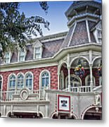 Ice Cream Parlor Main Street Walt Disney World Metal Print