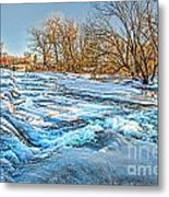 Ice Falls Metal Print
