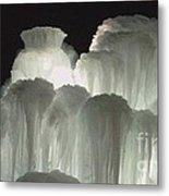 Ice Flow 4 Metal Print