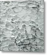 Ice Formations Metal Print