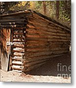Ice House At The Holzwarth Historic Site Metal Print