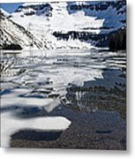 Ice In The Water Metal Print