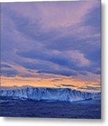 Ice Island Metal Print