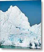 Ice Iv Metal Print by David Pinsent
