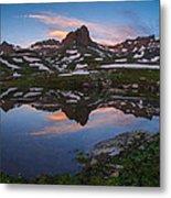 Ice Lakes Basin Sunrise Metal Print