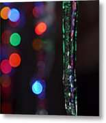 Ice Storm Christmas  Metal Print