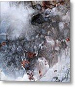 Ice Transformation Vii Metal Print