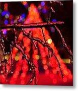 Ice Tree 2 Metal Print by Jeffrey J Nagy
