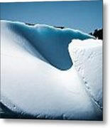 Ice V Metal Print by David Pinsent