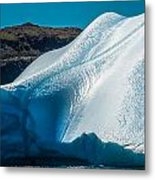 Ice Xi Metal Print by David Pinsent