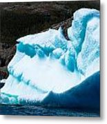 Ice Xiv Metal Print by David Pinsent