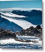 Ice Xix Metal Print by David Pinsent