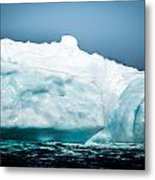 Ice Xxvii Metal Print by David Pinsent