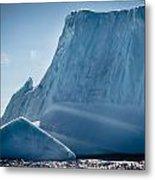 Ice Xxviii Metal Print by David Pinsent