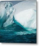 Ice Xxxi Metal Print by David Pinsent